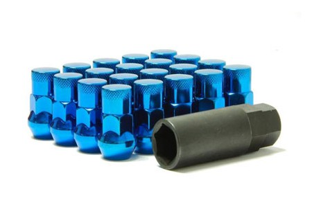 Muteki SR35 Lug Nuts Blue M12x1.5 Closed
