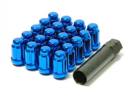 Muteki Lug Nuts Blue M12x1.5 Closed