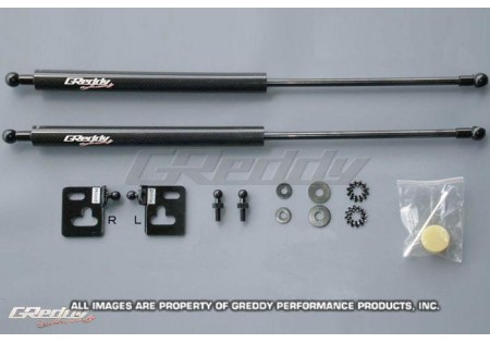 Greddy Carbon Fiber Hood Dampers