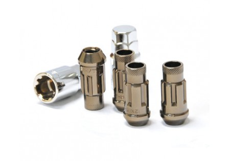 Muteki SR48 Lug Nuts Titanium M12x1.5 Open (Locking Set)