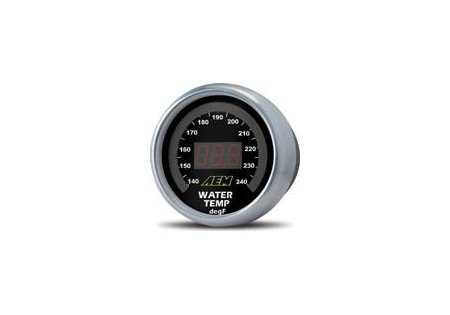 AEM Temperature Display Gauge