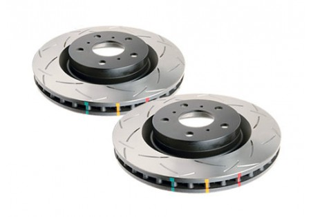 DBA 4000 T3 Slotted Rear Brake Rotors